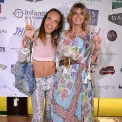 Aless Gibaja y Arancha de Benito en la fiesta  benéfica 'Infancia sin fronteras' en Marbella