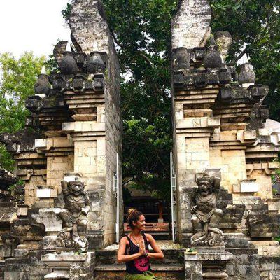 Lara Álvarez de vacaciones en Bali