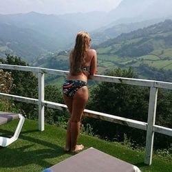 Belén Esteban en bikini en Asturias