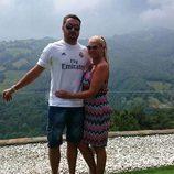 Belén Esteban y su novio Miguel en Asturias