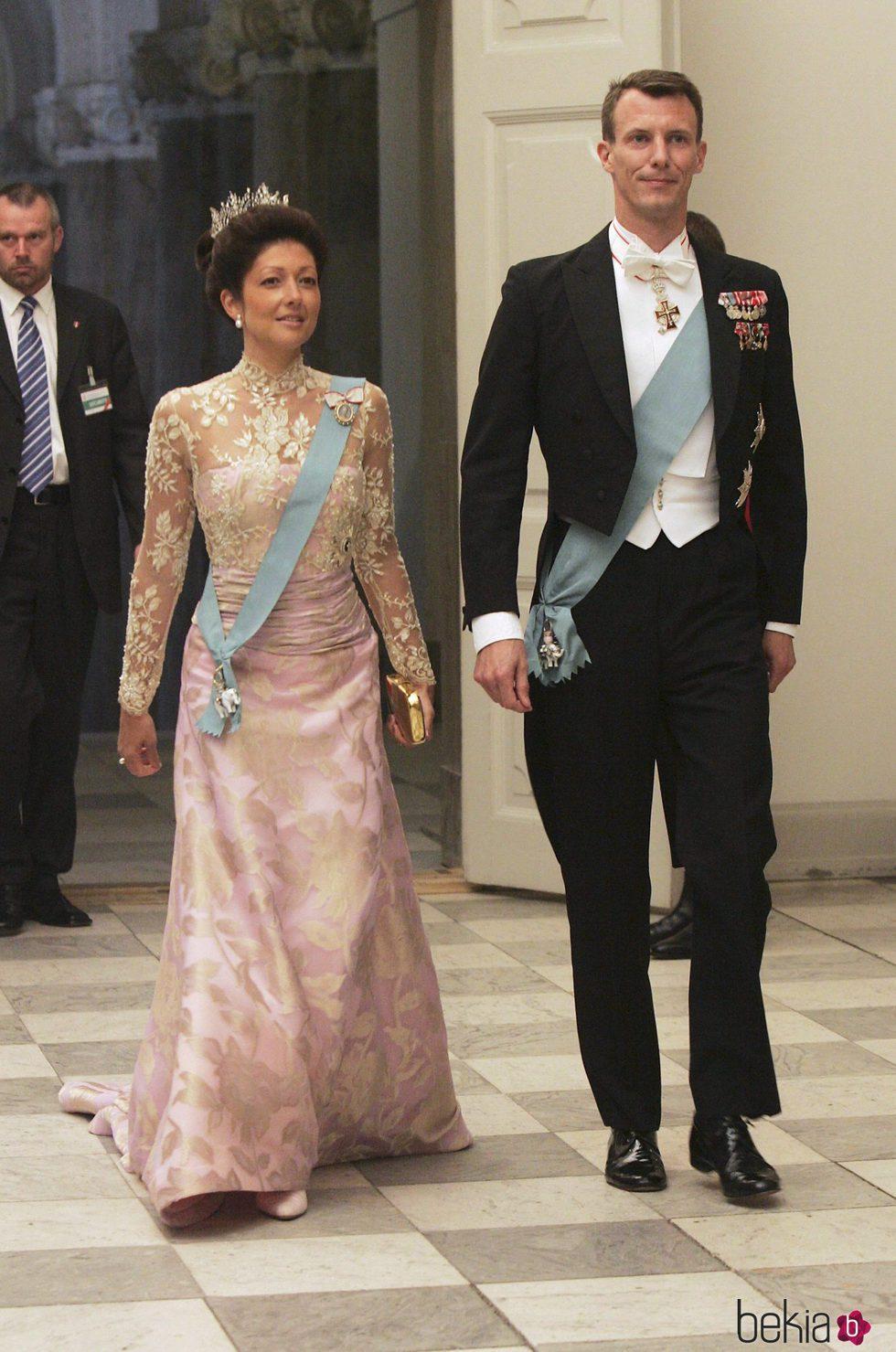 Joaquín de Dinamarca y Alexandra Manley