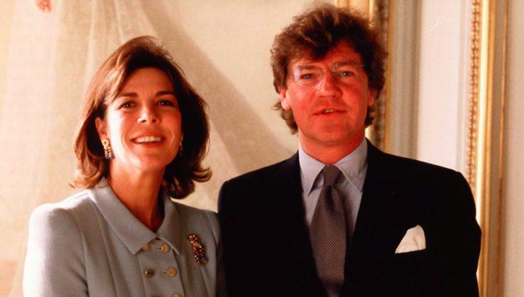 Carolina de Mónaco y Ernesto de Hannover