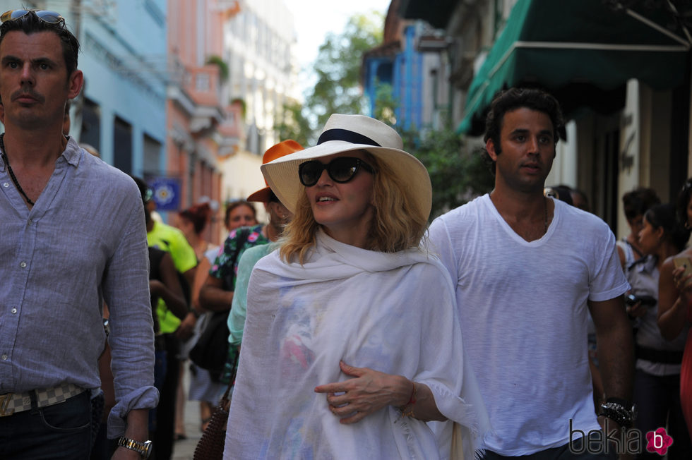 Madonna celebra su cumpleaños por las calles de La Habana