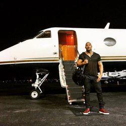 Dwayne Johnson al terminar el rodaje de 'Fast & Furious 8'