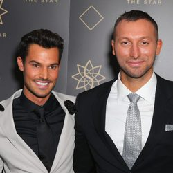 Ian Thorpe y Ryan Channing en un evento