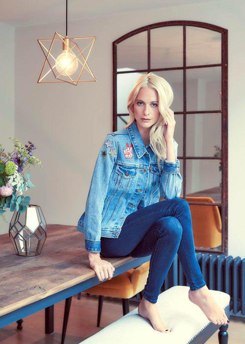 Poppy Delevigne en la campaña de Levi's de 2016
