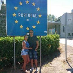 Belén Esteban con Miguel en Portugal