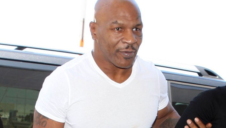 Mike Tyson en Los Angeles