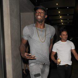 Usain Bolt de fiesta por Londres