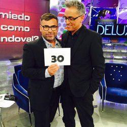 Kiko Hernández junto a Jorge Javier Vázquez