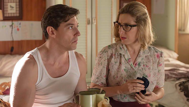 Cecilia Freire y Adrián Lastra en la 4º temporada de 'Velvet'