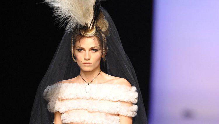 Andreja Pejic de novia para Jean-Paul Gaultier