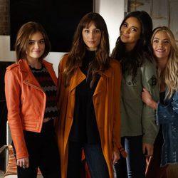 Lucy Hale, Shay Mitchell, Troian Bellisario y Ahsley Benson en la 7ª temporada de 'Pretty Little Liars'