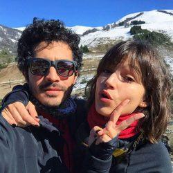 Úrsula Corberó de vacaciones con Chino Darín en Argentina