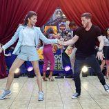 Zendaya bailando en 'Good Morning America'
