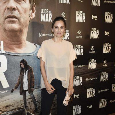 Elena Anaya en el estreno de 'Lejos del mar'