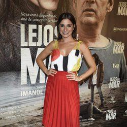 Ana del Rey en el estreno de 'Lejos del mar'