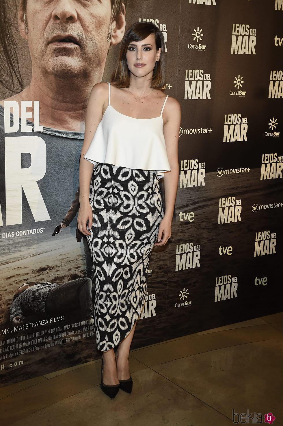 Natalia de Molina en el estreno de 'Lejos del mar'