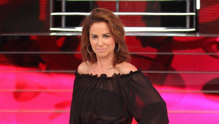 Vicky Larraz en la presentación de la cuarta temporada de 'Tu Cara Me Suena'