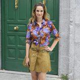 Katia Klein durante la presentación de la 5 temporada de la serie 'Amar es para siempre'
