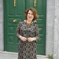 María José Goyanes durante la presentación de la 5 temporada de la serie 'Amar es para siempre'