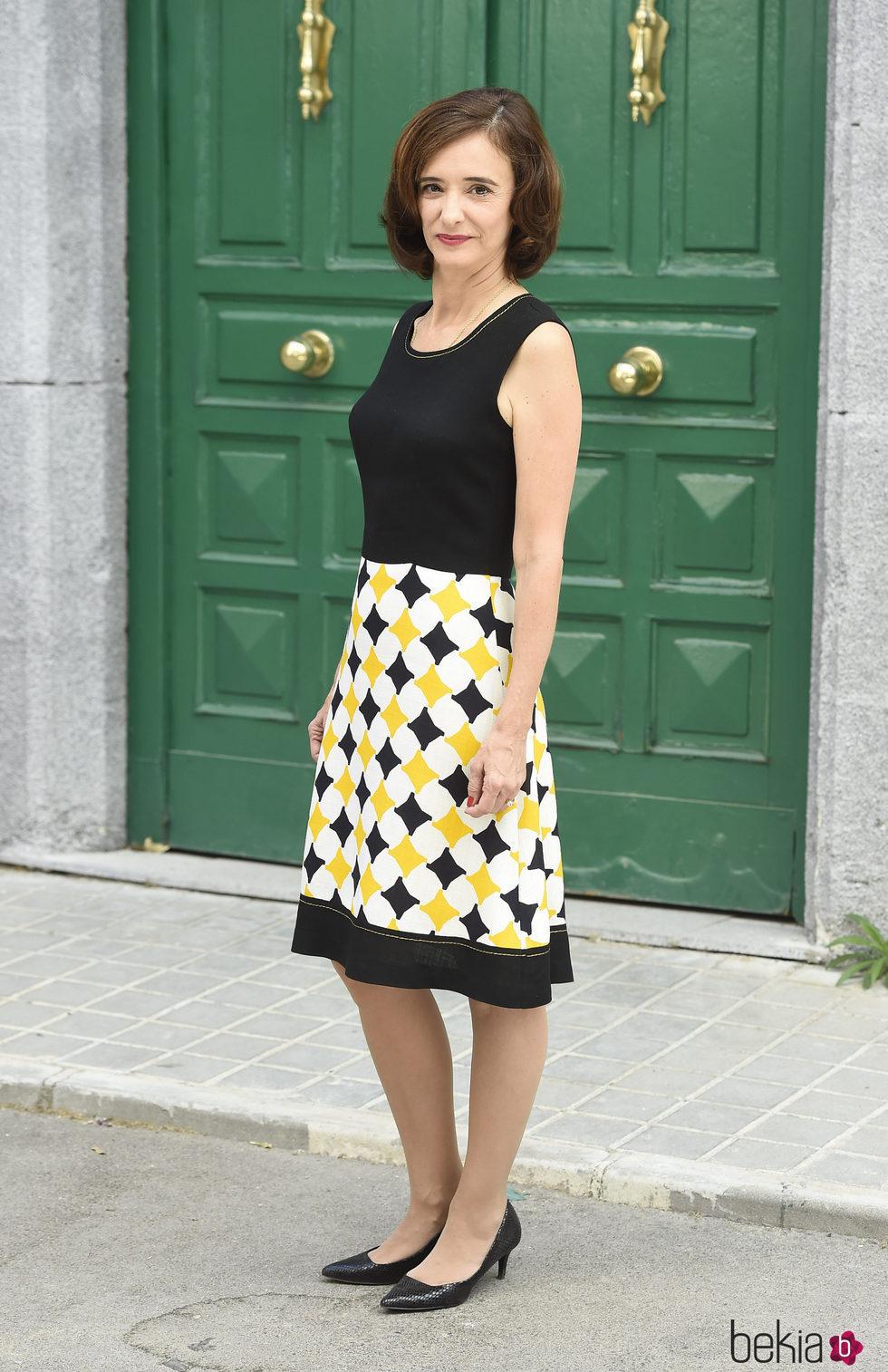 Ana Torrent durante la presentación de la 5 temporada de 'Ama es para siempre'