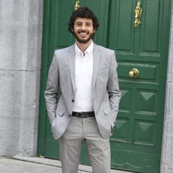 Javier Pereira durante la presentación de la 5 temporada de 'Amar es para siempre'