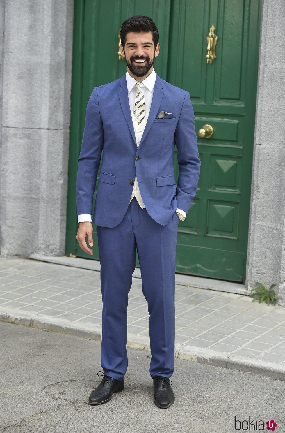 Miguel Ángel Muñoz durante la presentación de la 5 temporada de la serie 'Amar es para siempre'