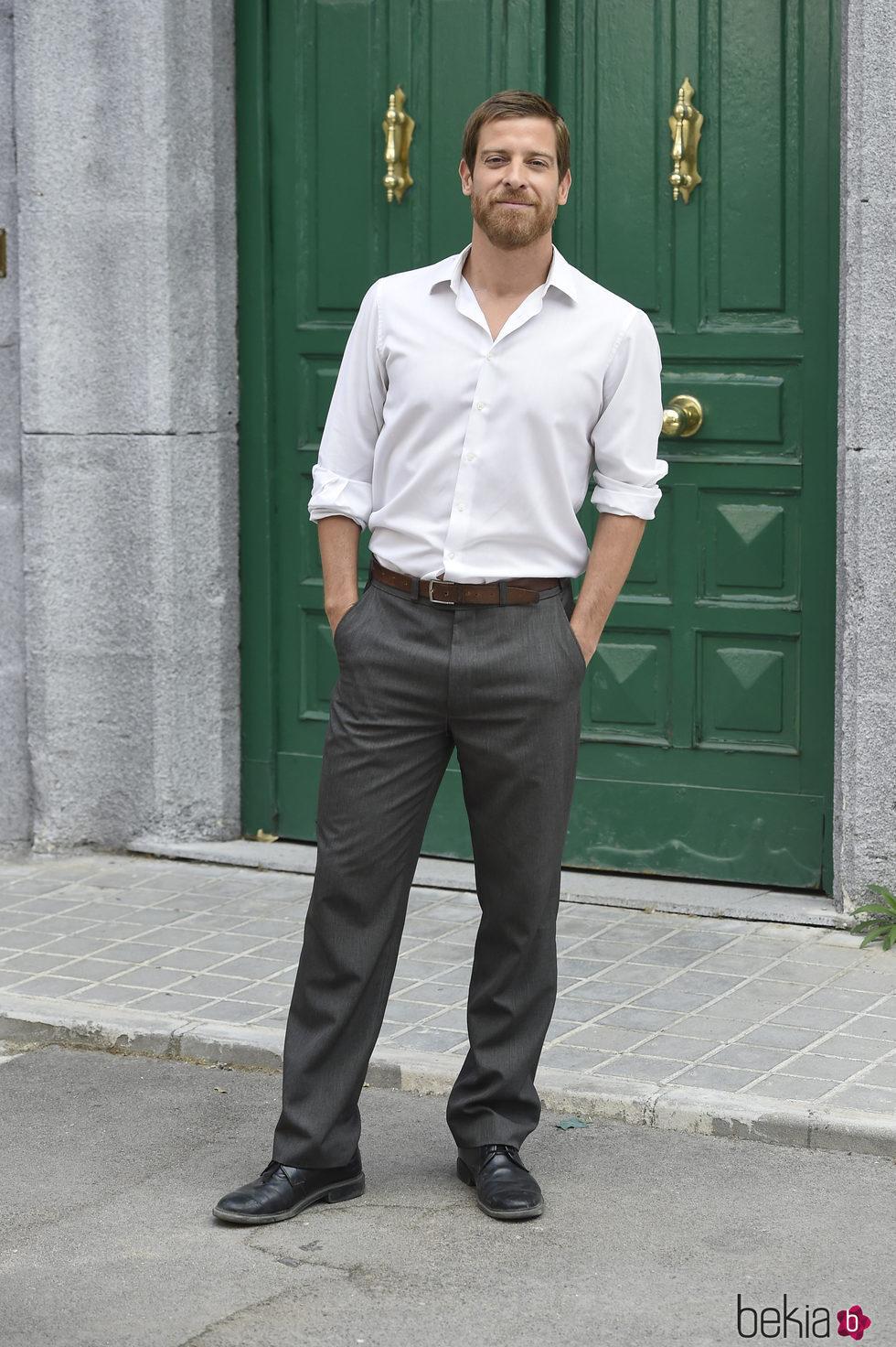 Manu Baqueiro durante la presentación de la 5 temporada 'Amar es para siempre'