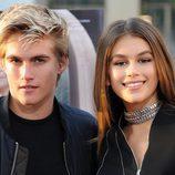 Kaia Gerber y su hermano Presley