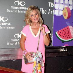 Lydia Lozano en la fiesta de despedida de 'Hable con ellas'