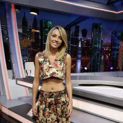 Anna Simon en la presentación de la temporada 11 de 'El Hormiguero'