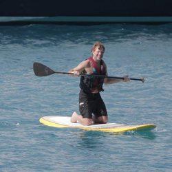 Jon Bon Jovi practicando Paddle Surf