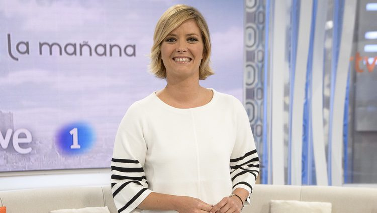María Casado en su presentación como conductora de 'La Mañana de La 1'