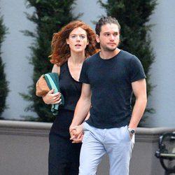 Kit Harington y Rose Leslie de paseo por Nueva York