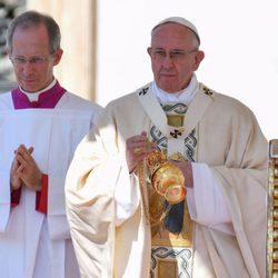 El Papa Francisco en la Misa de Canonización de la Madre Teresa de Calcuta