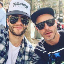 Pelayo Díaz y Sebastián Ferraro en Madrid
