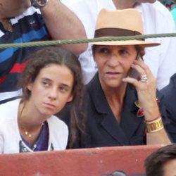 La Infanta Elena y Victoria de Marichalar en la corrida de toros en homenaje a Víctor Barrio