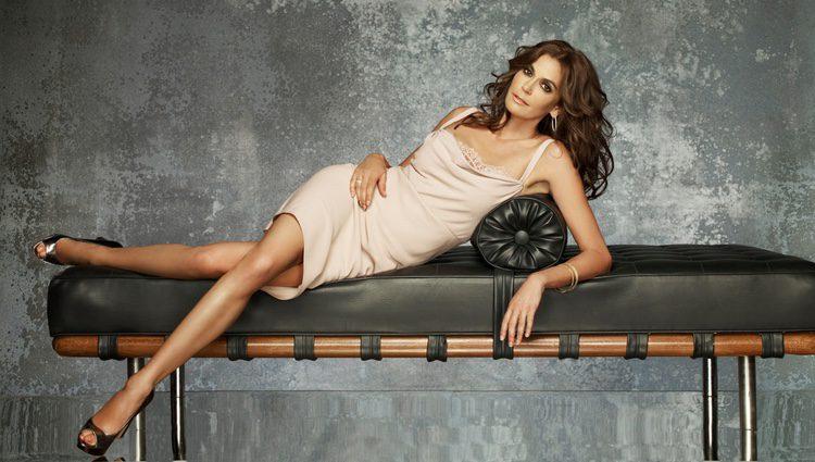 Teri Hatcher en una imagen promocional de la octava temporada de la serie 'Mujeres Desesperadas'.
