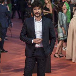 Daniel Grao en la alfombra del estreno de la serie 'La Sonata del silencio' en el Festival de televisión de Vitoria 2016