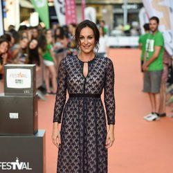 Ana Milan en la alfombra de el estreno de 'Likes' en el Festval 2016