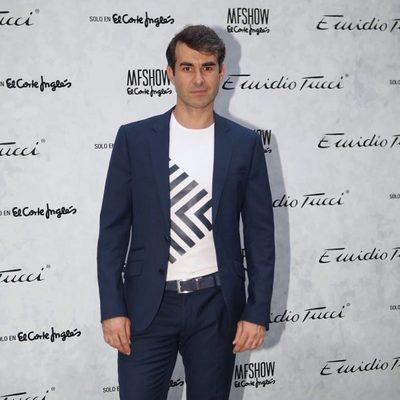Daniel Muriel durante la presentación de la nueva colección de la firma 'Emidio Tucci' en la MFSHOW 2016