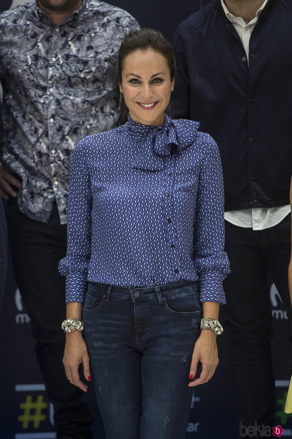 Ana Milán en la presentación de la nueva temporada del canal 0 de Movistar en el Festval 2016
