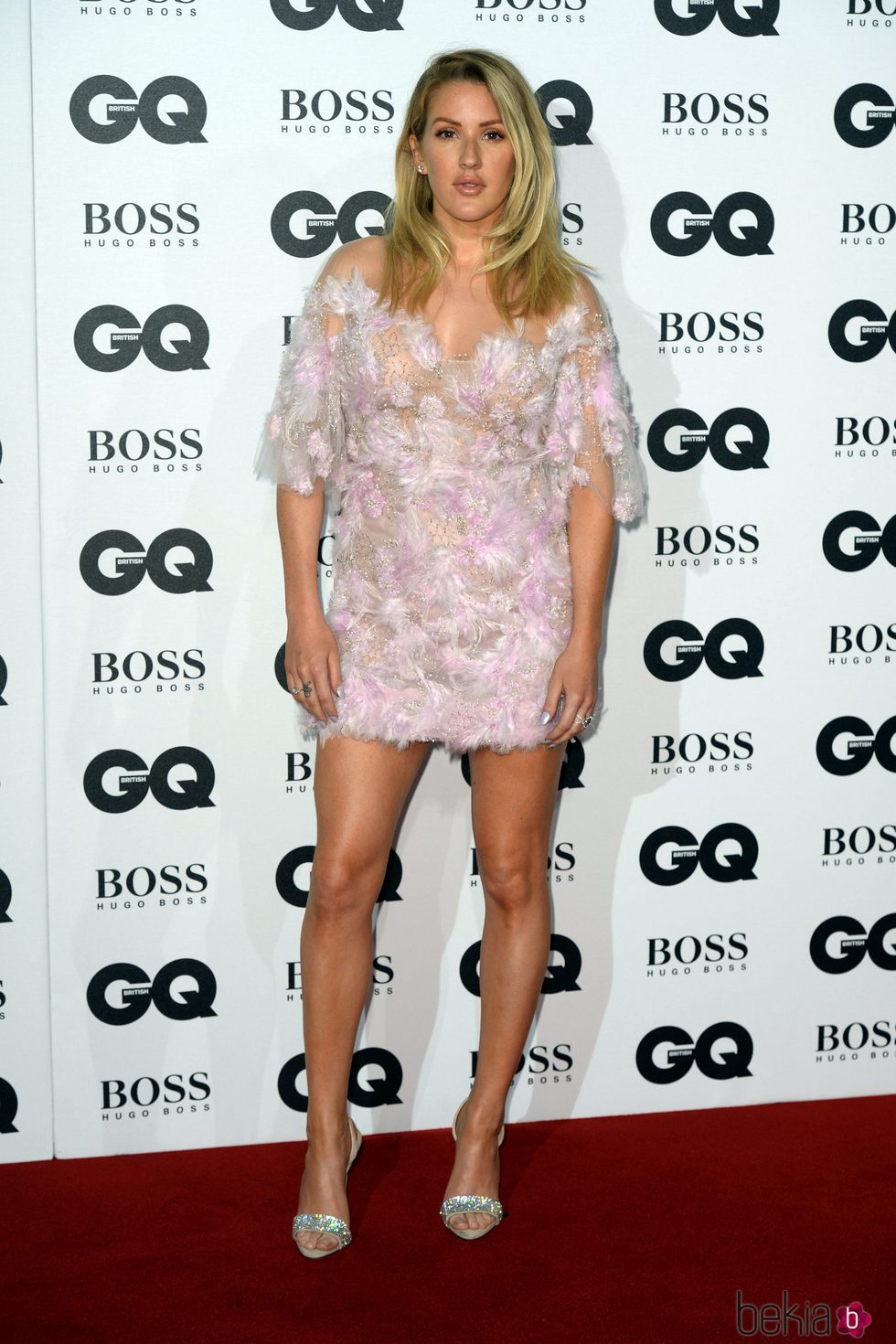 Ellie Goulding en los Premios GQ 2016 en Londres