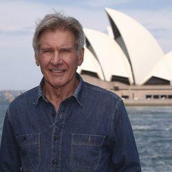 Harrison Ford posando en Sydney