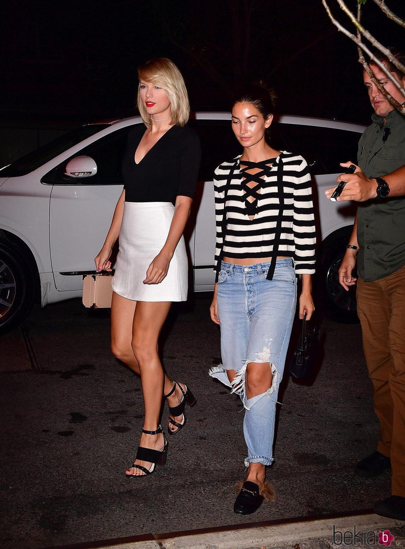 Taylor Swift y su amiga, Lily Aldridge