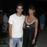 Sonia Ferrer y Nahuel Casares en el desfile de Félix Ramiro en Madrid Fashion Show Men