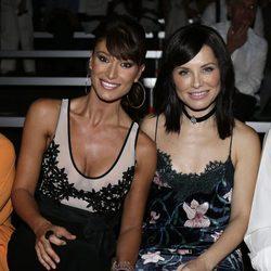 Soraya Arnelas y Sonia Ferrer en el desfile de Félix Ramiro en Madrid Fashion Show Men