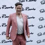 Jorge Sanz en el desfile de Félix Ramiro en Madrid Fashion Show Men