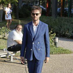 Eloy Azorín en el desfile de Félix Ramiro en Madrid Fashion Show Men